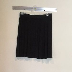 Black Michael Kors flounce skirt